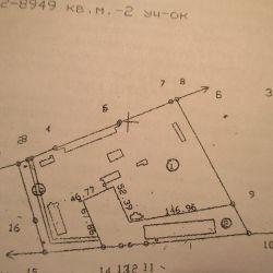 Продается зем.уч 0.89Га, со складом- 1572,5 кв.м под производство. 2