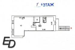 Торговое помещение, 75 кв.м. 3