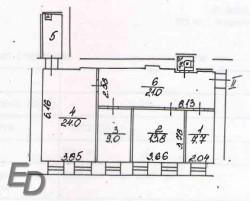 Офисное помещение, 80 кв.м. 5