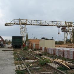 Производственно-складская база, с жд путями 2300 м 5