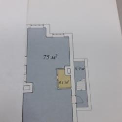 Помещение свободного назначения, 75 м² 1