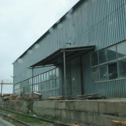 Производственно-складская база, с жд путями 2300 м 3