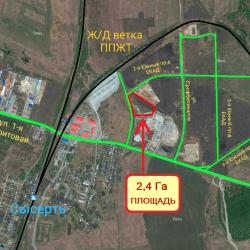 Участок земли в п. Станция Сысерть, 2-ой южный пр-д ЕКАД 4