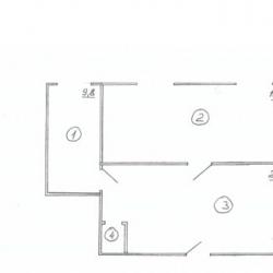 Офисное помещение, 55 м² 1