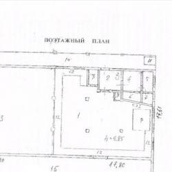 Складское помещение, 320 м², с земельным участком 1