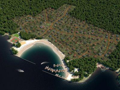 Продажа земельного участка по мини гостиницу на берегу Горьковского водохранилища