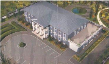 Двухэтажное здание под санаторий, клинику, школу
