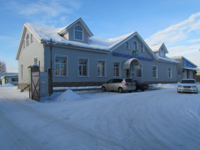 Офисное здание и склады