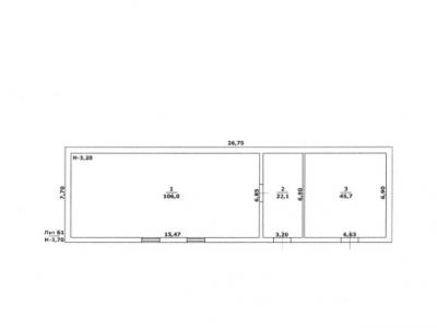 Складское помещение, 174 м²