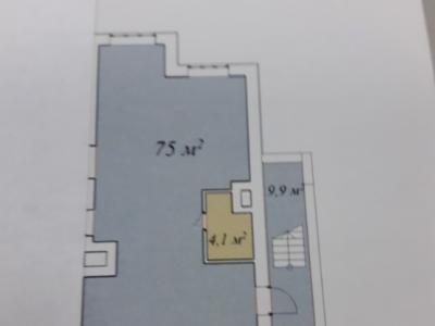 Помещение свободного назначения, 75 м²