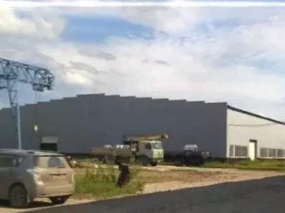 Производственно-складской комплекс с подъездными жд путями