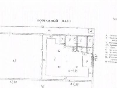 Складское помещение, 320 м², с земельным участком