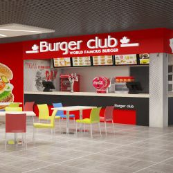 Burger Club. Франшиза сети ресторанов быстрого питания. 4