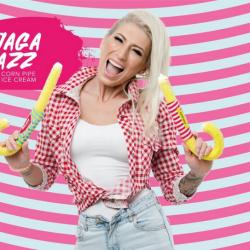 Jaga Jazz | Corn Pipe Ice Cream. Франшиза модных киосков по продаже кукурузных трубочек с мягким мор