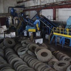 Экошина. Франшиза услуг по переработке старых автомобильных покрышек в резиновую плитк 1