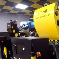 Ellip6. Франшиза рэйс-бара с французскими симуляторами вождения 3