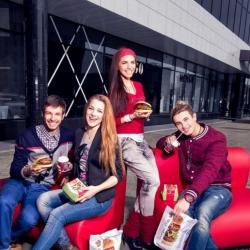 Burger Club. Франшиза сети ресторанов быстрого питания. 1