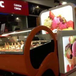 GELATERIA PLOMBIR. Франшиза точки по продаже мороженого. 2