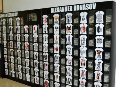ALEXANDER KONASOV. Франшиза мобильного стенда по продаже футболок и аксессуаров.