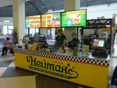 Франшиза кафе быстрого обслуживания Nathan's Famous