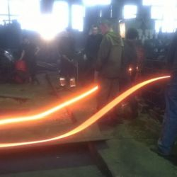 Работающий завод по производству стальной арматуры 4