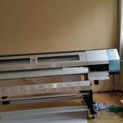 Рекламное производство с оборудованием для печати 2
