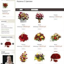 Интернет - магазин цветов и воздушных шаров 2