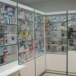 Аптечный пункт в строящемся жилмассиве 1