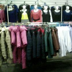 Торговый павильон одежды 2