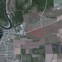 Земля под коттеджный поселок с коммуникациями - участок 9,1 ГА земли поселений - ИЖС (г. Семикаракор