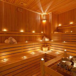 Действующая сауна 2 зала с бассейном 2