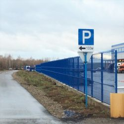 Парковка аэропорта Казань  6
