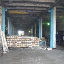 Производство оцилиндрованного бревна 3