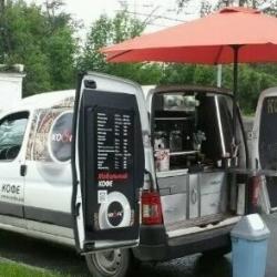 Мобильная кофейня на базе авто Citroen Berlingo