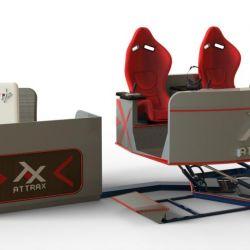 Аттракцион VR для двоих - новейший аппарат на платформе с шестью степенями свободы 5