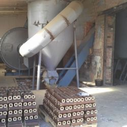 Производство топливных брикетов типа Пини-Кей 3