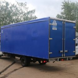 Переоборудование грузовиков. Производство 1
