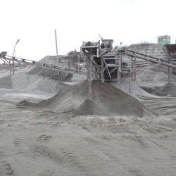 Действующий завод по добыче и переработке ПГС (песчано-гравийные смеси(щебень и отсев)) 4