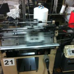 Производство  рабочей перчатки ХБ с ПВХ 3