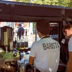 Сеть передвижных велокофеен в парках Москвы 2