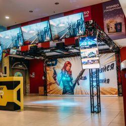 Игровая зона виртуальной реальности PlayVR 1