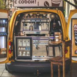 Продаю мобильную кофейню. Готовый бизнес