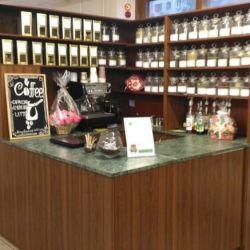 Торговая стойка продажи кофе с собой