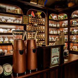 Магазин чая и кофе с высокой проходимостью 1