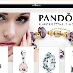 Интернет-магазин ювелирных украшений Pandorа 2