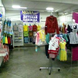 Торговый павильон одежды 5