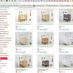 Прибыльный интернет магазин детских товаров 2