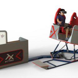 Аттракцион VR для двоих - новейший аппарат на платформе с шестью степенями свободы 4