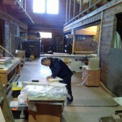 Производство мебели, фасадов. Моллирование стекла 1
