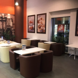 Кафе пекарня Cinnabon